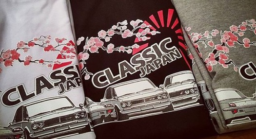 Design Graphic T Shirt Classic Japan Car Show 2